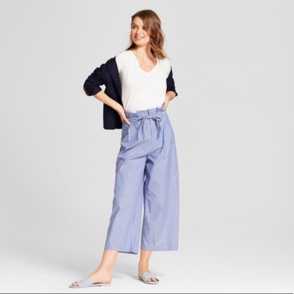 3004529a6bab a new day Pants - A New Day Stretch Culottes Palazzo Wide Leg Pants
